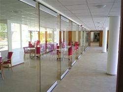Schuifdeur van het Glas van Frameless van de Verrichting van het Gebruik van de Toegang van het bureau de Automatische