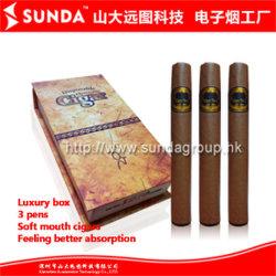 Оптовая торговля горячей сигарный Электронные сигареты, три роскошных подарочные коробки, новейшие продукты (SD-СИГАРНЫЙ3)