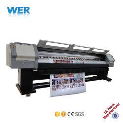 中国3.2m Spt510 35plの印字ヘッドPVC屈曲の旗の印字機