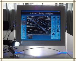 أجهزة صالون تحليل الشعر الذكي المحمول Saclp Analyzer