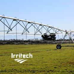 Strumentazione concentrare di irrigazione del perno con la pompa ad acqua del motore diesel