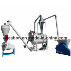 De hete Verkopende 1-3t/H Dierlijke Machine van de Molen van de Korrel van het Voer van de Koe van het Gras Alfafa
