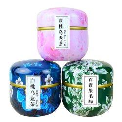 Las conservas de perfumado Melocotón Melocotón té Oolong té de frutas de la Pasión