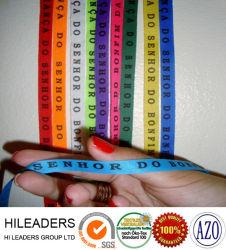 Ruban de Satin Polyester Customed bracelet fabriqué en Chine