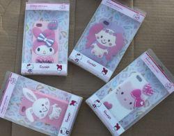 Netter Melodien-Karikatur-Telefon-Kasten für iPhone 4/5 und Samsung 7100 (note2) 9500 (s4) in RoHS und im CER