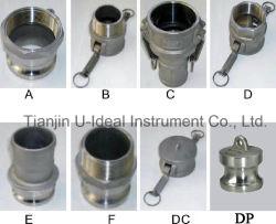 L'aluminium/acier inoxydable serrure batteuse Coupling-Pipe le raccord (B) de type