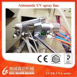 De automatische UV het Schilderen UV VacuümApparatuur Metalizing van de Apparatuur voor Plastiek