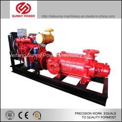 6-дюймовый дизельного двигателя водяной насос высокого подъема насоса из нержавеющей стали