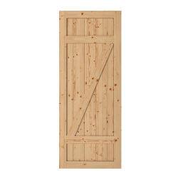 Porta sólida de hardware da porta de madeira da Malásia em alta qualidade