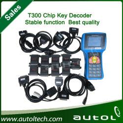 Dernière version de vente chaude T300 clé clé programmeur, T-300 PRO--espagnol/anglais