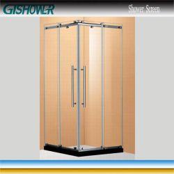 Hangzhou coulissante de cabine de douche en acier inoxydable (BE0842)