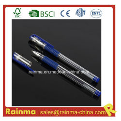 Gel bleu stylo pour fournitures de bureau d'encre