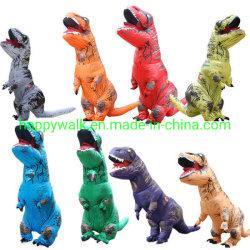 Erwachsenes Festival-aufblasbares Dinosaurier-Klage-Kostüm