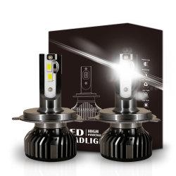 F2 мощность лампы H4 Hi ближнего света фар H7 9005 9006 LED Car Авто свет лампы фар
