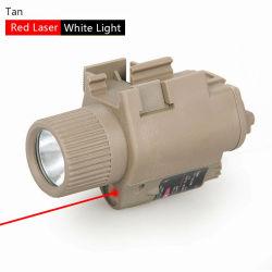 Torcia elettrica tattica combinata M6 HK15-0003 del laser torcia elettrica rossa/verde di vista
