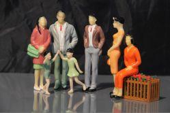 De Model Menselijke MiniatuurArchitectuur van de schaal
