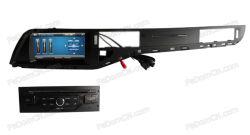 Kit de montagem no tablier Monitorar Auto entretenimento multimédia estéreo de áudio do leitor de DVD para Citroen C5 com navegação GPS C7029CC)