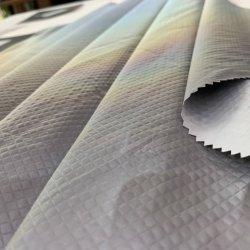 Volledige Saaie Mechanische Rek 100% de In te ademen die van de keperstof Stof 10K/10K van de Polyester met het Document Pu van de Versie voor Skiwear met een laag wordt bedekt