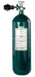 Cilindros de oxigênio de aço sem costura HP 6m3 de tanques com