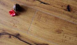 Flutuar 8-12mm HDF classe 32 à prova Parafinado piso laminado de madeira de carvalho