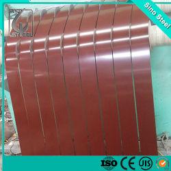 0,25mm revestido de color PPGI Gi tira la tira de acero galvanizado prebarnizado