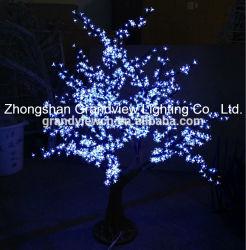 LED de exterior luzes da árvore de Flor de Cerejeira Artificial