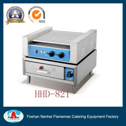 scaldino elettrico di Grill&Bun del hot dog di 220V 11-Roller (HHD-821)