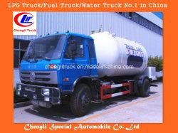 Dongfeng 4x2 mini réservoir de GPL Chariot Dongfeng Camion de gaz GPL du réservoir de GPL du chariot de remplissage de GPL du chariot
