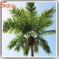 La decoración exterior artificiales frutas palmeras de coco