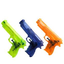 다채로운 투명한 OEM 주문 로고 장난감 전자총 남자 아기를 위한 플라스틱 물총 장난감