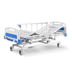 A3w het Hand Geduldige Regelbare Bed van het Ziekenhuis met Krukas 3