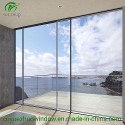 Portello scorrevole di vetro di alluminio del blocco per grafici sottile per costruzione