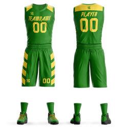 Formação de basquetebol de alta qualidade personalizada Jersey para homens e mulheres