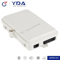 FTTH 2 Core Mini-ABS/PC Boîte à bornes à fibres optiques de la boîte de jonction à fibre optique
