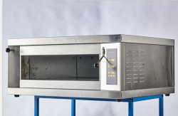 Heavy Duty automática comercial panadería de tres pisos Deck eléctrico microondas