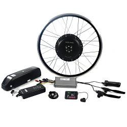 Greenpedel 26 28 дюйма 48V 1000W Бесщеточный двигатель ступицы электрический комплект колес велосипедов для велосипеда