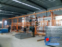Los productos de revestimiento en polvo electrostática de andamios