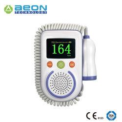 O detector por ultra-som Doppler Fetal bebê pré-natal Monitor LCD da freqüência cardíaca
