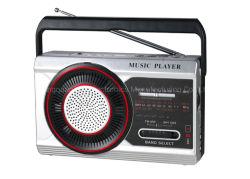 Multi giocatore di musica del USB TF/Sw MP3 della radio portatile della fascia della batteria ricaricabile della radio all'ingrosso del pacchetto