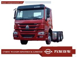 Sinotruck HOWO Camion 6x4 zz3241W4257n camion tracteur/chariot Heavy Duty/camion-remorque