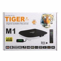 Mini-DVB S/S2 HD gesetzter Spitzensatellitenempfänger des Tiger-des kasten-M1 Digital