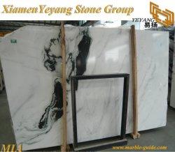 Pierre de marbre blanc/noir Panda de dalles de marbre blanc/tuiles de la Chine dalles de pierre