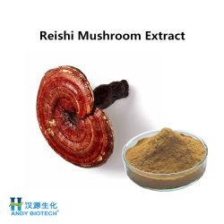 Hot Sale le champignon Reishi Extrait de la poudre avec 15 % des polysaccharides