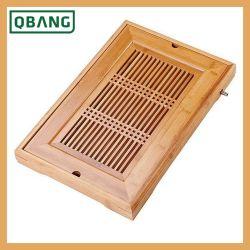 Большой чайный поднос в большой деревянной Gongfu бамбук китайский чай