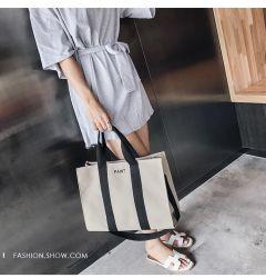 Ventes en gros Mesdames sac à main pour faire du shopping avec sacs à main fourre-tout d'impression