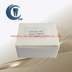 Стоматологического назначения Bondable мини-Рот 022 ортодонтические металлические кронштейны