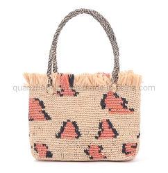 OEM-Handtasche Aus Raffia Strow Fashion Tragetasche