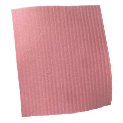 Vegetal triangular celulosa comprimido de tela esponja de baño