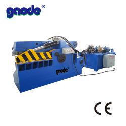 Venta caliente Cocodrilo máquina cizalla hidráulica utiliza para cortar metal