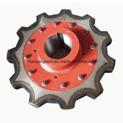 42CrMo convoyeur Standard pignons de la chaîne de levage de roue et le godet de la chaîne du pignon de roue